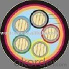 AL PVC insulated thin steel wire-armoured PVC sheathed power cable