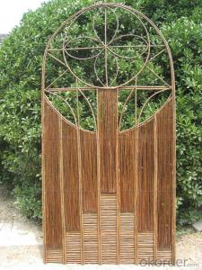 WICKER FENCE DECORATION PANEL