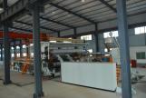PE-PVC wider geomembrane sheet extrusion line