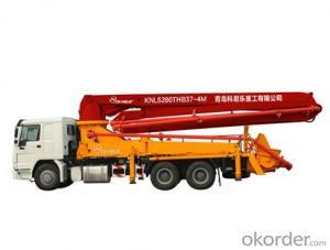 small  type  concrete  boom pump 21m 25m 29m