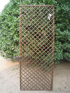 WILLOW NATURAL BACKYARD FENCE TRELLIS DECORATING PANEL