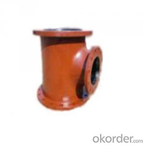 Ductile Iron Cast Iron All Flange Tee Made in China