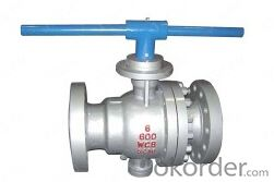 Cast Steel Trunnion Mounted Flange Ball Valve