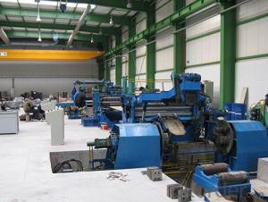 metal coils slitting line