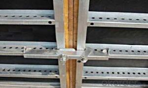 Steel-frame Formwork system and scaffolding system