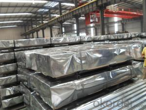 Corrugated Hot-Dipped Galvanized Steel Sheet