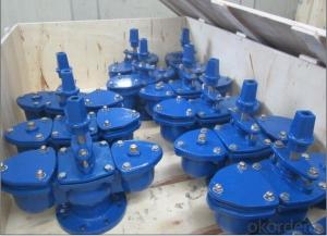 Double Orifice Air Valve with Intergrated Isolating Valve