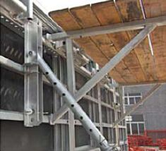 Steel-Frame Formwork working platform