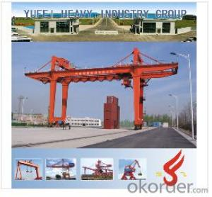 Yufei Rail Mounted Container Gantry Crane