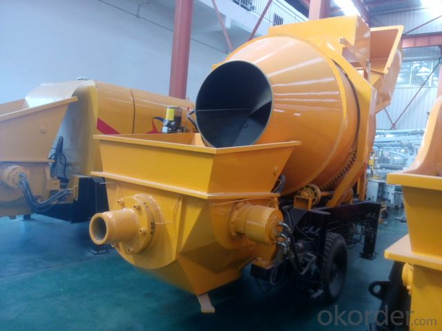 concrete  mixing pump 2014 hot sales