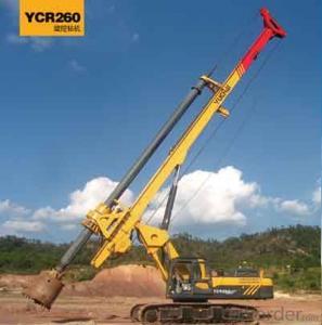 yuchai YC260R Rotary drilling rig.