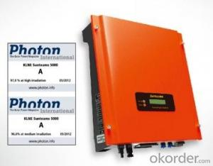 Sunteams 4000 on grid inverter with WIFI US standard