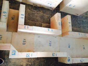 Second Hand- Zircon Corundum Brick(used)-90%