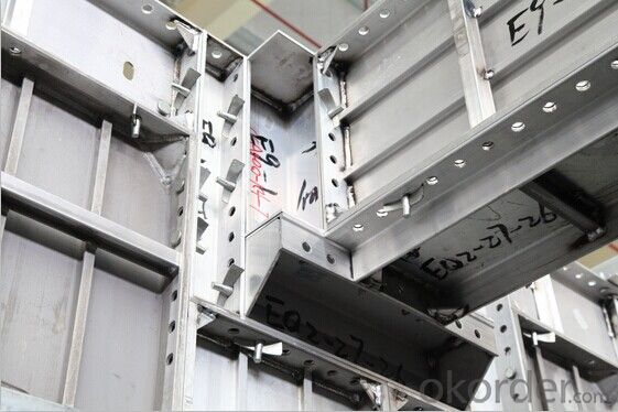 Re-useable Aluminum Formwork System
