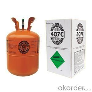Refrigerant R407c in 25LB