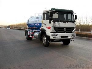 HOWO SEWAGE SUCTION TRUCK WHITE-2