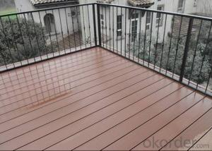 Good Quality Wood Plastic Composite Outdoor Decking