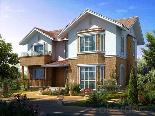 luxury modern light steel villa 8#