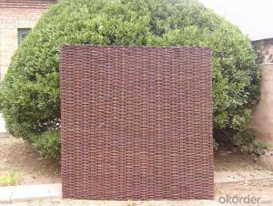 WILLOW NATURAL BACKYARD FENCING TRELLIS DECORATING PANEL