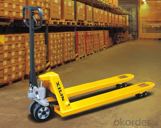 BFC6-7(S) SCALE PALLET TRUCK
