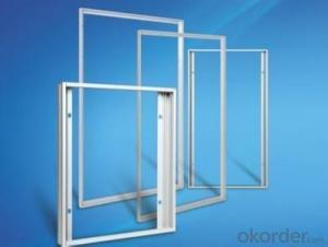 Solar aluminum alloy frame