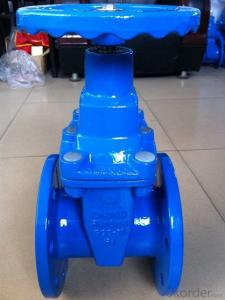 DIN3353 F4 DCI non-resilient  Ductile Iron Gate Valve