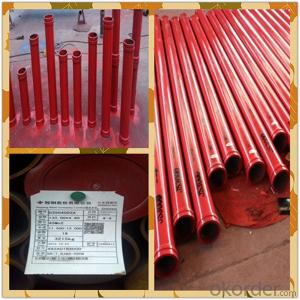 concrete boom pipe in sany concrete pump spare parts