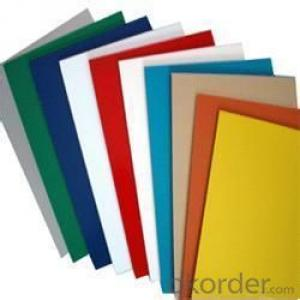 prepainted aluminum sheet for