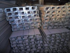 Hot Rolld Steel U-channel with Many Standards Q235