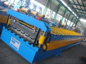 aluminum roof sheet double roll forming machine