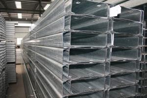 Hot Dip Galvanized C Steel with Manufacturers