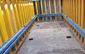 Shaft Platform formwork and scaffolding system