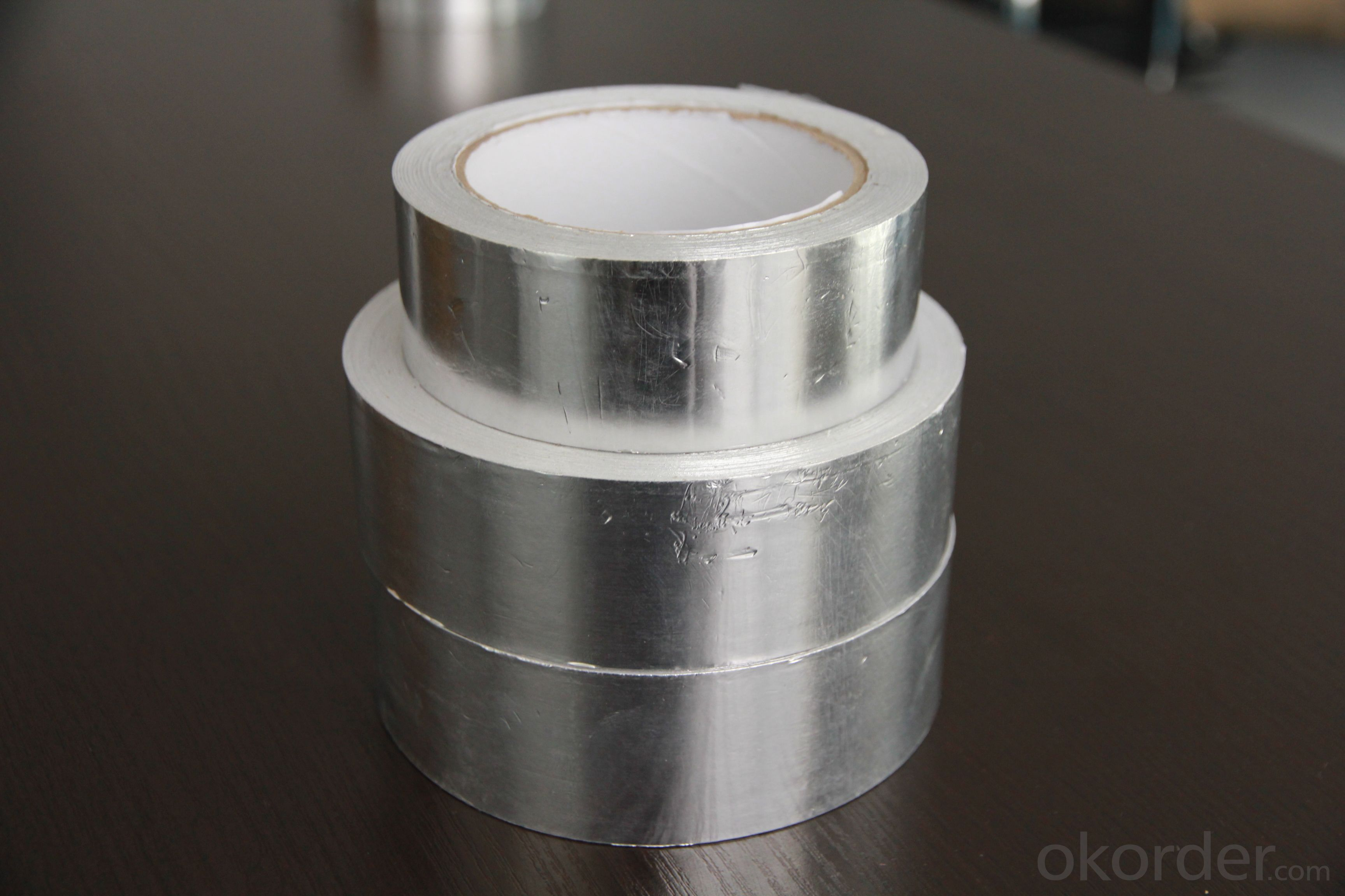 SOLVEN-BASED ACRYLIC ADHESIVE ALUMINUM FOIL TAPE T-FGR1801FR