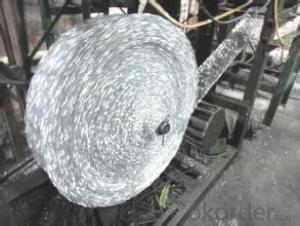 stainless steel/galvanized mesh scourer making machine with 2 needles