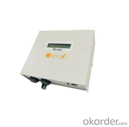 Micro inverter Omniksol-M300 with standart 1 pcs solar panel