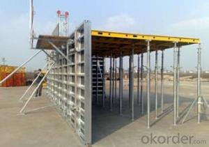 Aluminum-Frame Formwork system for build