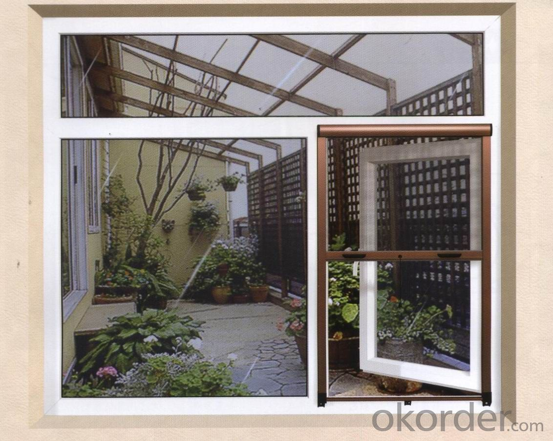 Retractable Screen Window System Manufactory