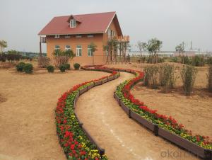 Good Quality Wood Plastic Composite Garden Road