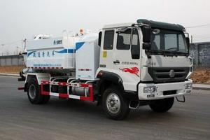 HOWO SEWAGE SUCTION TRUCK WHITE-1