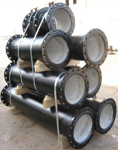Ductile Iron Pipe DCI Loose Flanged Short Pipes