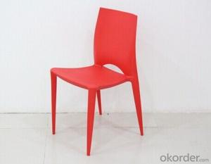 Simple Form Outdoor Plastic Chair