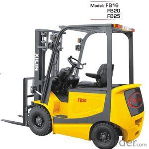 Electric Forklift Truck- FB16/20/25