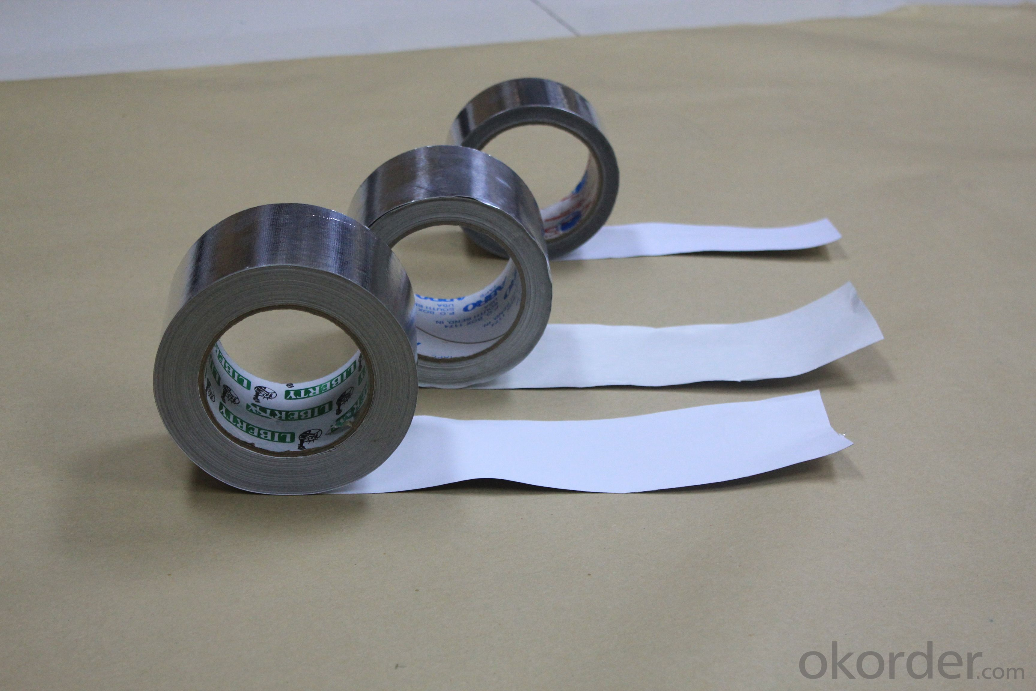 HIGH PERFORMANCE FLAME RETARDANT ALUMINUM FOIL TAPE T-F3004SP