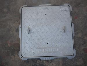 Cast iron square plate