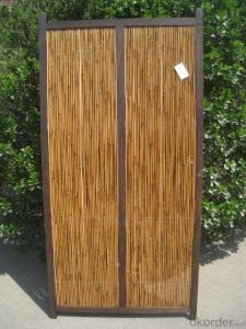WILLOW DOOR NATURAL WOVEN FENCING SCREEN