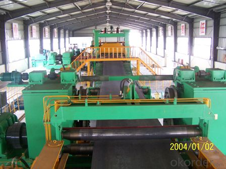 cut to length lines mill roll forming machine