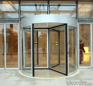 Automatic Revolving door three wings