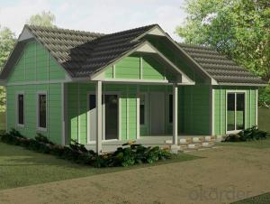 Low cost and good quality prefabricated house