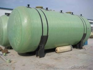 Fiberglass Reinforced Plastic High Quality FRP Pretreatment Tank DN8000