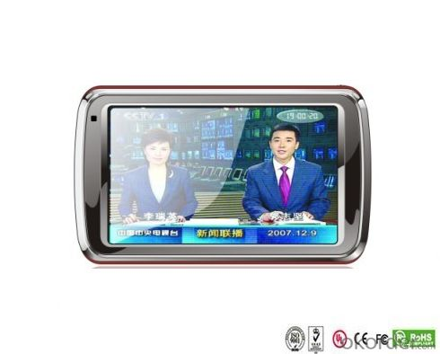 China Factory 5 inch GPS PND for Car with DVB-T optional